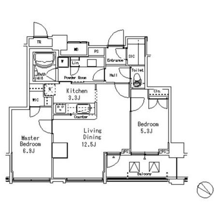 MFPR目黒タワー1406号室