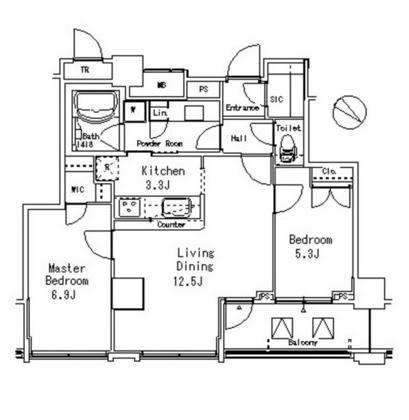 MFPR目黒タワー1606号室