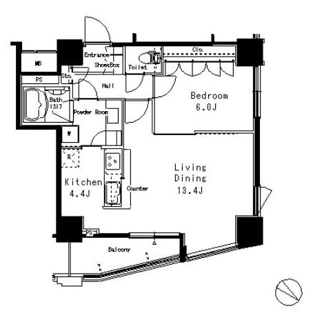 MFPR目黒タワー1607号室