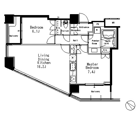 MFPR目黒タワー1701号室