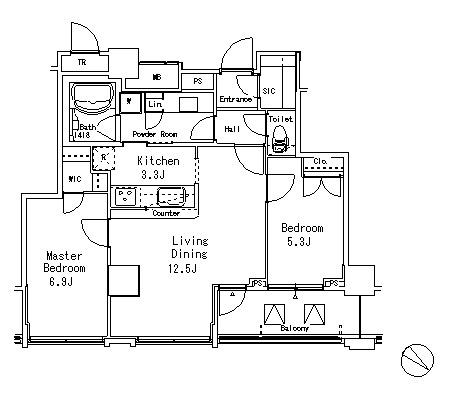 アトリア目黒タワー1806号室