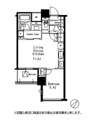 MFPR目黒タワー404号室