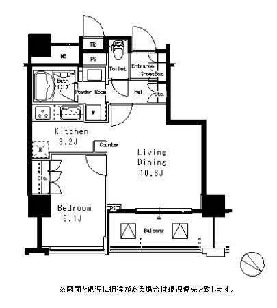 MFPR目黒タワー607号室