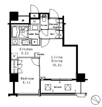 MFPR目黒タワー807号室