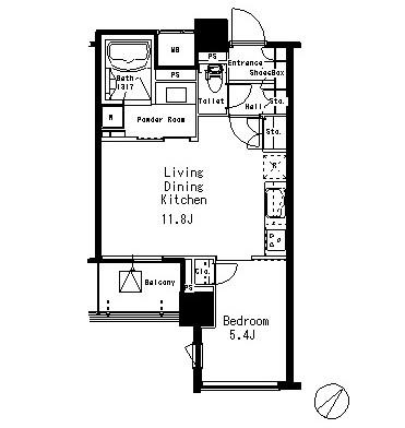 MFPR目黒タワー904号室