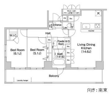 コンフォリア田町803号室