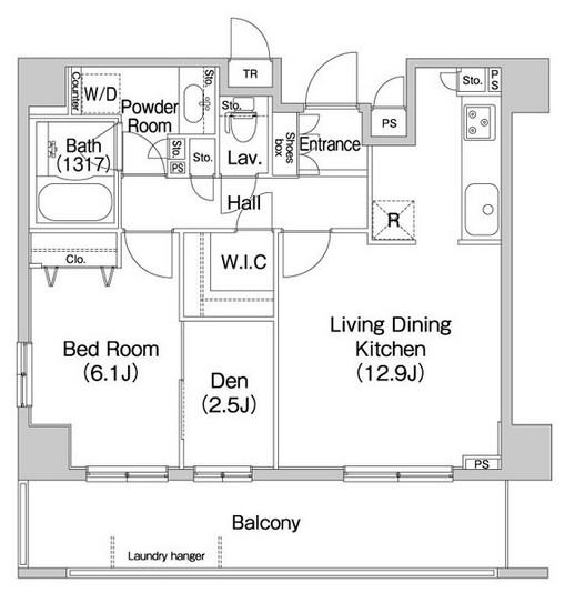 コンフォリア田町907号室