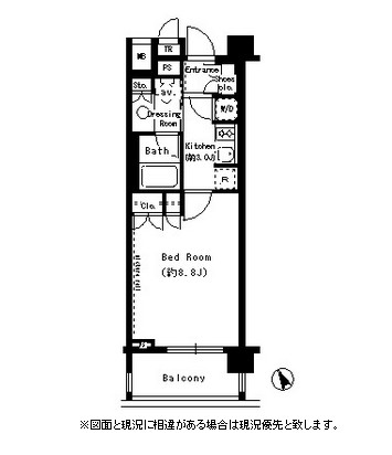 パークアクシス学芸大学405号室