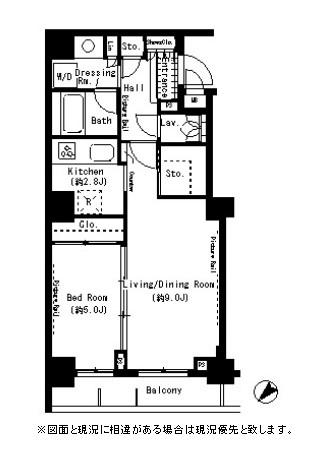 パークアクシス月島504号室