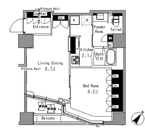 パークアクシス日本橋浜町306号室