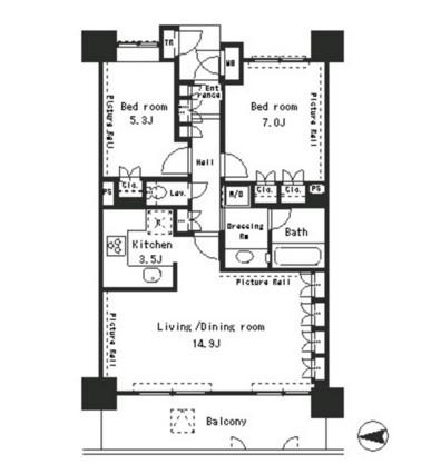 パークアクシス四谷ステージ1603号室
