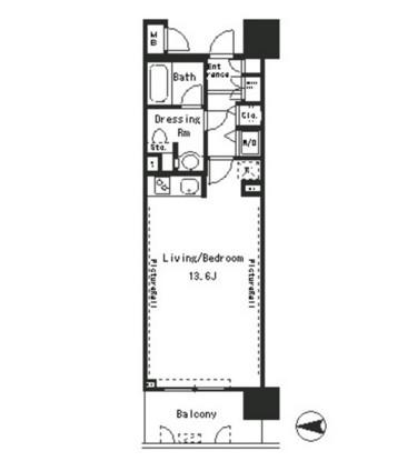 パークアクシス四谷ステージ305号室