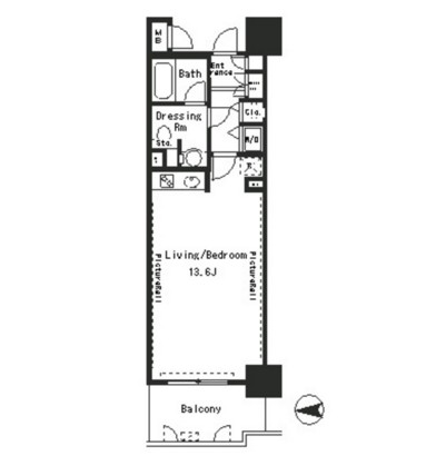 パークアクシス四谷ステージ308号室