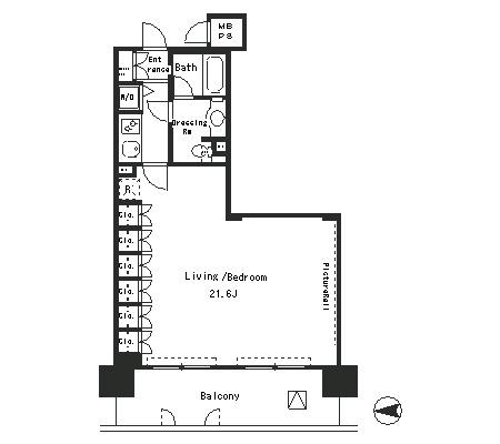 パークアクシス四谷ステージ706号室