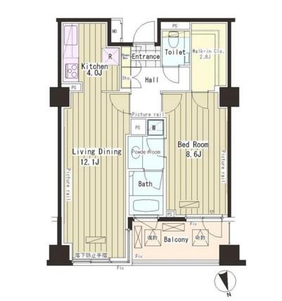 パークアクシス恵比寿314号室