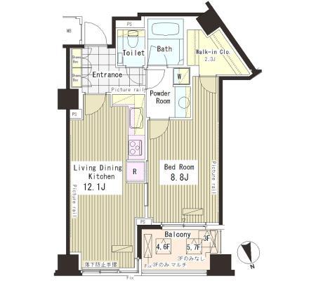 パークアクシス恵比寿610号室