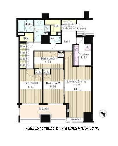 パークアクシス日本橋ステージ502号室