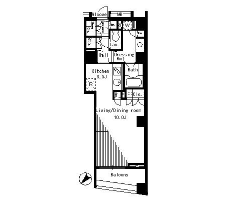 パークアクシス日本橋ステージ516号室