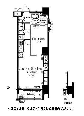 パークアクシス八丁堀1102号室