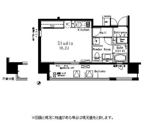 パークアクシス八丁堀1104号室