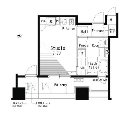 パークアクシス八丁堀603号室