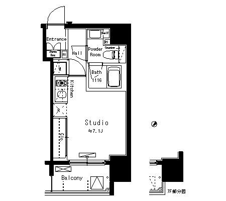 パークアクシス八丁堀906号室