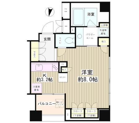 パークアクシス白金台南5001号室