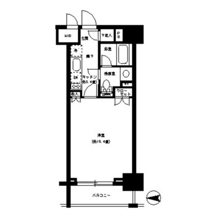 パークキューブ神田404号室