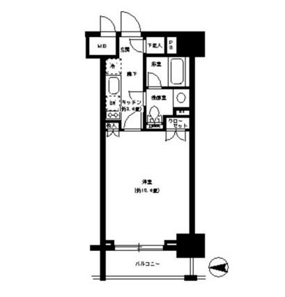 パークキューブ神田804号室