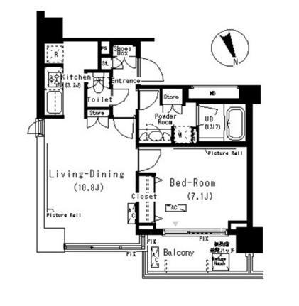パークキューブ代々木富ヶ谷702号室