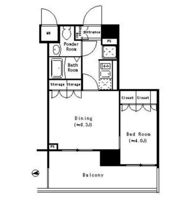 パークキューブ四谷三丁目601号室