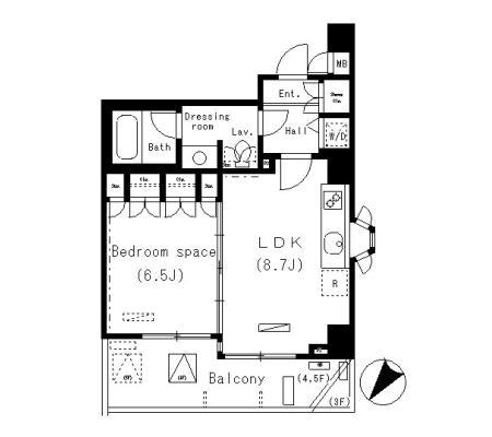 パークアクシス明治神宮前305号室