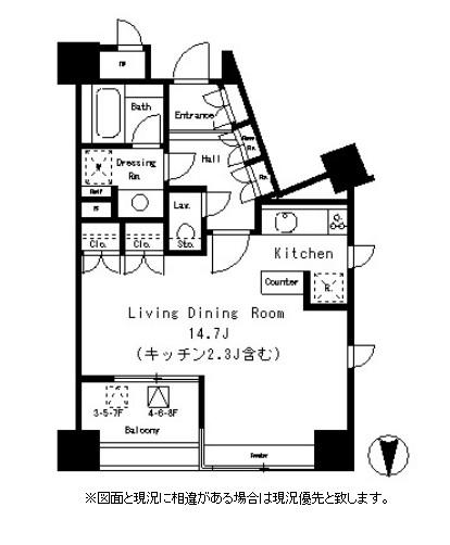 パークアクシス麻布仙台坂803号室
