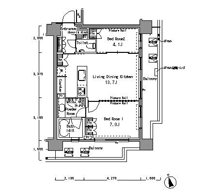 パークアクシス渋谷桜丘サウス802号室