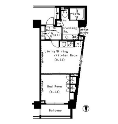 パークアクシス浜松町1008号室