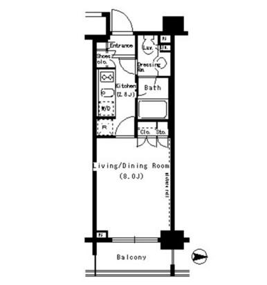 パークアクシス浜松町604号室