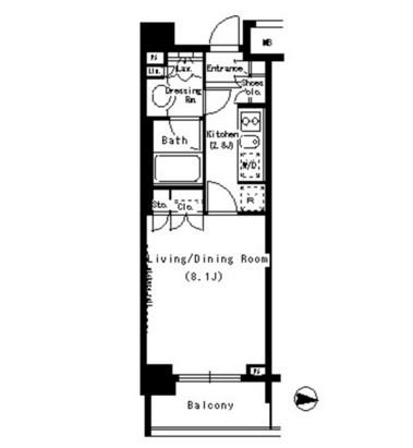 パークアクシス浜松町705号室