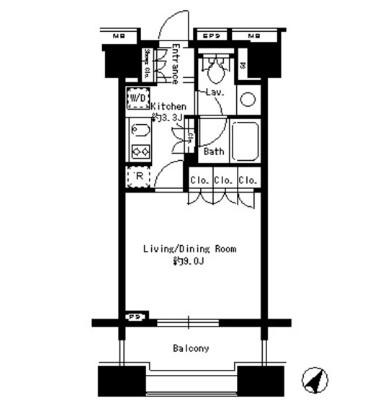 パークアクシス白金台1403号室