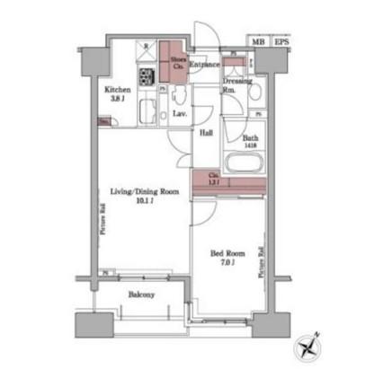 パークアクシス白金台204号室
