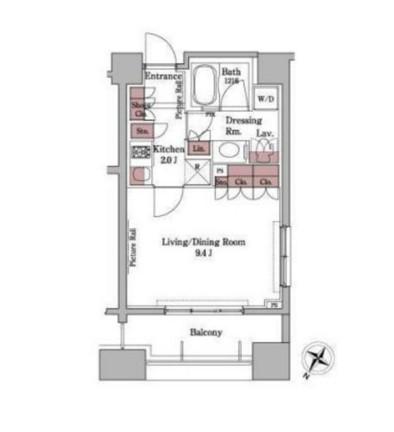 パークアクシス白金台301号室