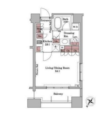パークアクシス白金台401号室