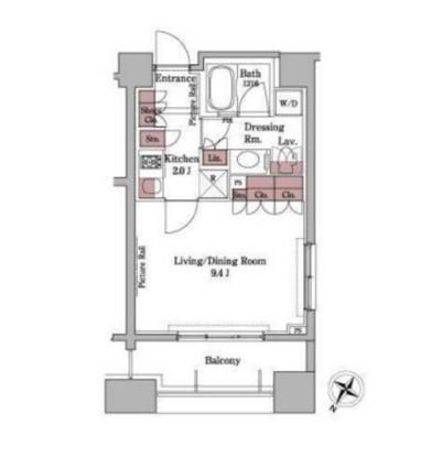 パークアクシス白金台901号室