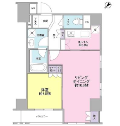 グランスイート銀座レスティモナーク1101号室