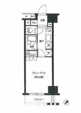 グランスイート銀座レスティモナーク1104号室