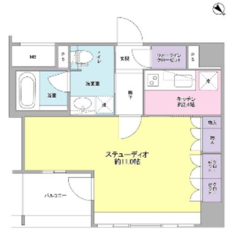 グランスイート銀座レスティモナーク1107号室
