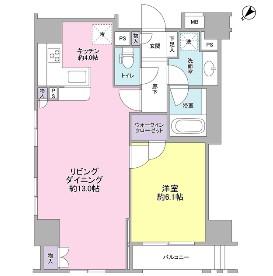 グランスイート銀座レスティモナーク1306号室