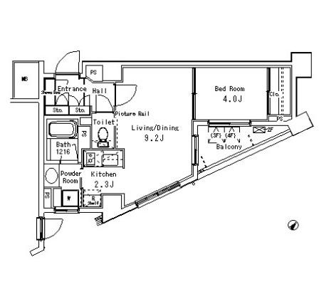 パークアクシス六本木檜町公園201号室
