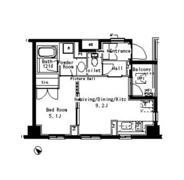 パークアクシス六本木檜町公園305号室