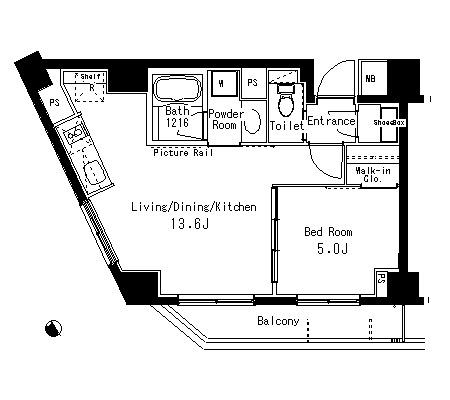 パークアクシス六本木檜町公園312号室