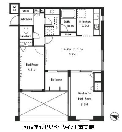 パークアクシス西麻布ステージ302号室